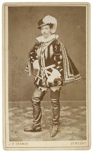 Portret van Leopold Ferdinand Dentz (1858-1903) als Graaf de Lalaing