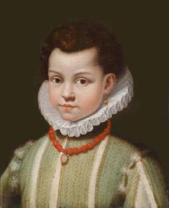 Portret van een jongen, traditioneel geheten Don Ferdinando Orsini