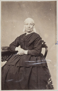 Portret van een vrouw uit familie Zuidema