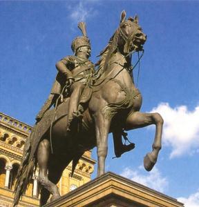 Ruiterstandbeeld van Koning Ernst August (1771-1851)