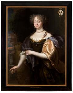 Portret van Agneta Graswinkel (1641-1727), echtgenote van Pieter van Loon