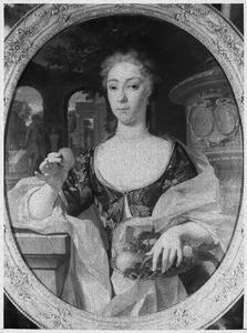 Portret van Jacoba de Vries (1706-1750)
