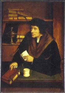 Portret van Peter Gilles (Petrus Aegidius) (1486-1533)