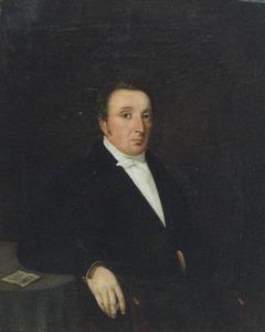 Portret van een man, waarschijnlijk Willem van der Linde (1812-1851)