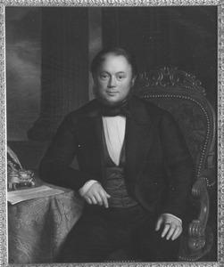 Portret van Julius Burmania van Andringa de Kempenaer (1813-1887)