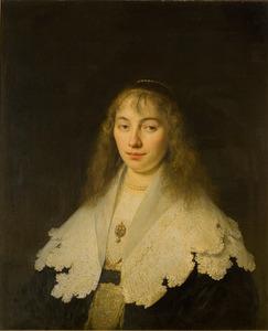 Portret van een vrouw, waarschijnlijk Cornelia van Buren (1620-1679)