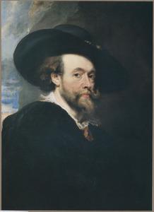 Zelfportret van Rubens (1577-1640)