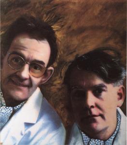 Portret van Hans Hessing (?-?) en Frans Hessing (?-?)