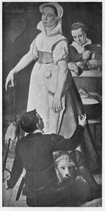 De huishoudster en haar helpers