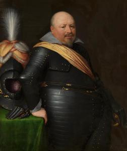 Portret van Nicolaes von Schmelzing (1561-1629)