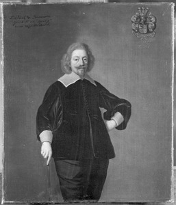 Portret van Sjuck van Burmania (1597-1650)