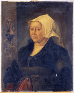 Portret van Margaretha van Binchem (1476-1546)