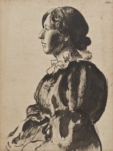 Portret van Madame Lemmen