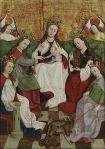 Mystieke verloving van de heilige Catharina