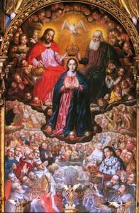 Kroning van de maagd Maria