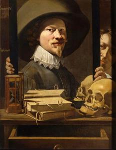 Zelfportret van Antonie van Steenwinckel