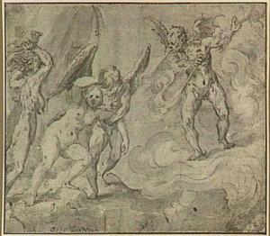 Chronos sleept Luxuria naar de hel