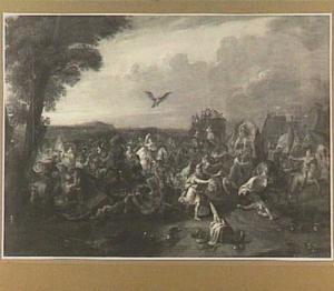 Gevecht tussen Alexander de Grote en Darius bij Issus