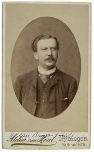 Portret van Rudolf Floris Carel de Bruyn (1855-1915)