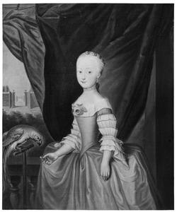 Portret van Hermanna Egberdina Adriana van Marle (1750-1799)