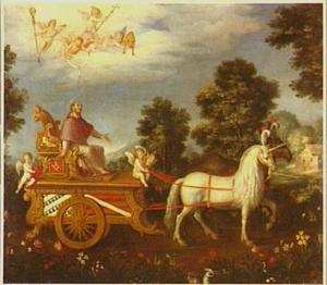 De triomf van de H. Carlo Borromeo