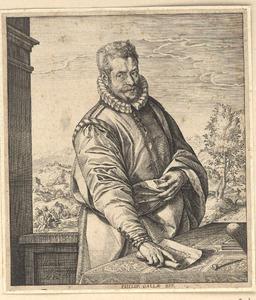 Portret van Philips Galle (1537-1612)