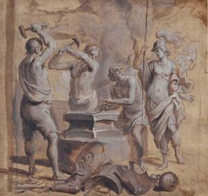 Venus in de smidse van Vulcanus (Aeneas 8:370-385)