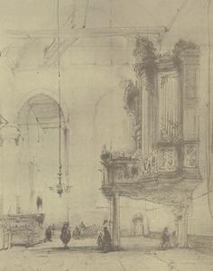 Orgel in de kerk te Purmerend