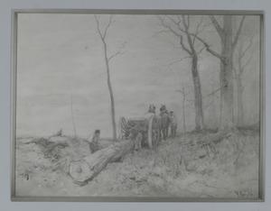 Mallejan in het bos