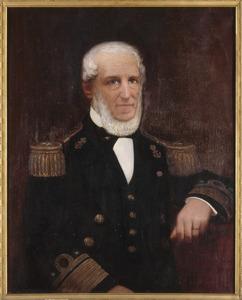 Portret van Jan Coenraad de Ruyter de Wildt (1841-1911)