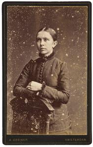 Portret van Antje Bakker (1865-1934)