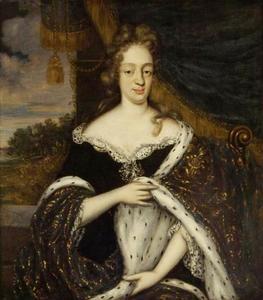 Portret van Albertina Elisabeth van Waldeck (1664-1727)