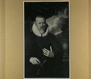 Portret van een man, wellicht een lakenverkoper