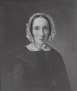 Portret van Mevrouw de Vries