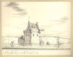 Harderwijk, gezicht op de vesting vanaf het water anno 1607