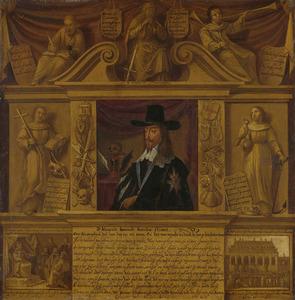 Portret van Karel I Stuart (1600-1649)
