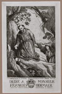 De stigmatisering van de Heilige Franciscus van Assisi