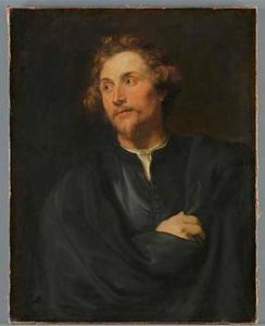 Portret van de Augsburgse beeldhouwer Georg Petel (?-1635)