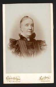 Portret van Maria Cornelia de Fremery (1836-1892)