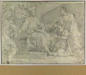 Christus in het huis van Martha en Maria