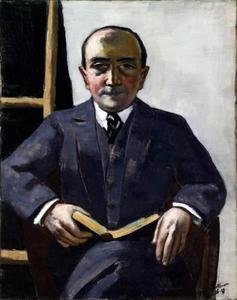 Portret van Curt Glaser (1879-1943)