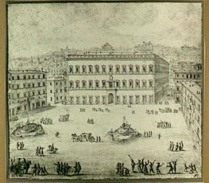 Rome, Palazzo en Piazza Farnese