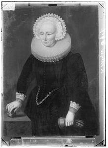 Portret van Elisabeth Alberts (1542-1625)