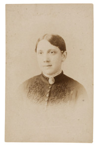 Portret van Alida Maria Cornelia Donkersloot (1862-1919)