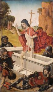 De opstanding (op de achterzijde: de H. Clemens)