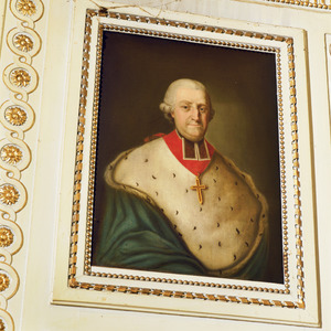 Portret van Franz Karl Graf von Velbrück, prins-bisschop van Luik