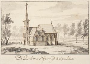 De kerk van St. Geertruid in Appeltern