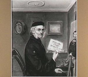 Zelfportret van de schilder Tjeerd Eernstman