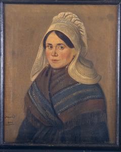 Portret van Anna Catharina Hoefeijzers (1830- )