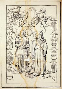 Grafzerk van Jan van Leefdael (?-1530) en Cornelia van Ranst (?-1533)
